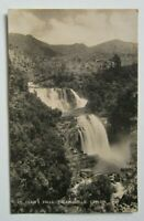 RPPC Ceylon St. Clair's Falls Old Postcard with 1938 stamps to Shanghai, China