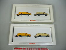 AI50-1# 2x Wiking H0 649 Jeu Camions m. Rouleau 1961: Mercedes Mo, W +