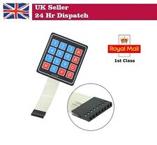 Matrix Array 16 Key Membrane  Keypad Slim for Arduino Raspberry Pi