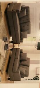 Brand new Living room set. Sofa and Love Seat coffee color - order today