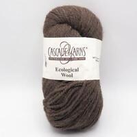 Cascade Yarns Eco + Peruvian Highland Wool 8087 Chocolate