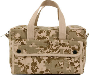 Heavy Duty Canvas Tool Bag Carry Tote Supplies Mechanics Work Military Tactical