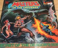 Masters Of The Universe Book, Secret Of The Dragons Egg Golden Book 1984 Vintage