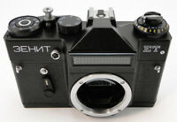 ⭐NEW⭐ 1992! ZENIT-ET ЗЕНИТ Russian Soviet USSR SLR 35mm Camera M42 Body Only