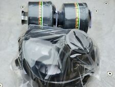 Sge 150 Gas Mask 2 New Mestel Nato 40mm Nbccbrn Filters New Production Medreg