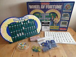 Waddingtons Wheel of Fortune 1988 vintage board game Complete