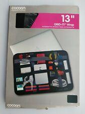 Cocoon CPG38BK GRID-IT! Wrap 13 Laptop Accessory Organizer (Black). Mac Book Pro