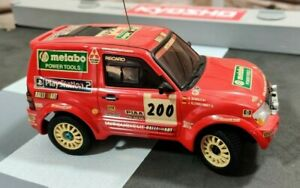 Kyosho Mini Z Mitsubishi Pajero Rallye Dakar RC Car Modellbau