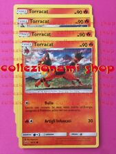 SET 4x - 16/73 Torracat - COMUNE - LEGGENDE IRIDESCENTI - CARTE IN ITALIANO