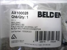 Belden AX100028 Optimax Multimode Connector 62.5um SC NX7L23KC-Lot of 5-Nice!$!