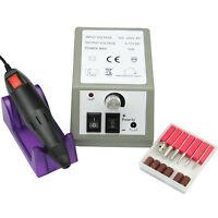 Manicure Pedicure Electric Drill File Nail Art Pen Machine Kit Profession Salon