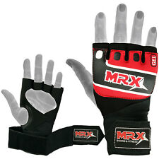 MMA Gel Gloves Grappling Padded Wraps Boxing Inner Hand Wrap Glove, S/M