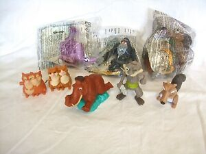 McDonalds Happy Meal Toys  Ice Age Continental Drift x 6 + 1