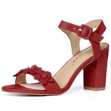 Sandals Medium (B, M) Width Floral Heels for Women