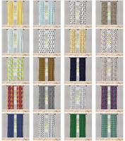 Ambesonne Home Decoration Microfiber Drapes Window Treatments 2 Panel Set