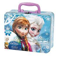 Disney Frozen Tin Tote 48 Piece Jigsaw Puzzle