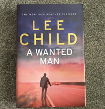 LEE CHILD A Wanted Man Signed First Edition Hardcover