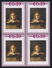 Persoonlijke zegels Rembrandt BLOK van 4 2420-A-3 SCHAARS Titus