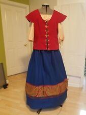 Renaissance Lady - Handmaiden/Shopkeeper Outfit - Skirt/Chemise/Jerkin/Shawl