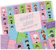 Baby Shower Fiesta Juegos-adivinen quién es el papá? - juego de equipo