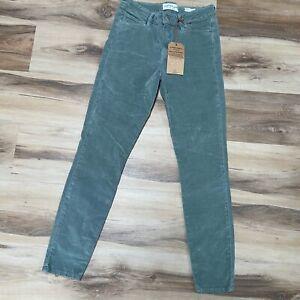 Lucky Brand AVA Super Skinny Dynamic Stretch Jeans Size 4/27 Green Plush