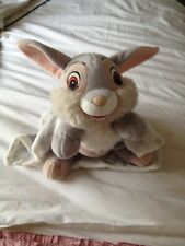 Disney Soft Plush Toy ' Thumper ' With Comfort Blanket