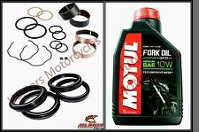 Honda CBR600 (91 to 96) Front Fork Bushes Fork Seals & Dust Seals & Fork Oil Kit