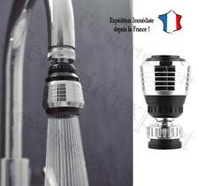 Embout de robinet - Aérateur - Economie d'eau 30 ~ 50% - Economiseur pivotant