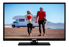 Telefunken XH24D401V Fernseher 24 Zoll, HD-TV Smart TV, 12V Triple Tuner schwarz