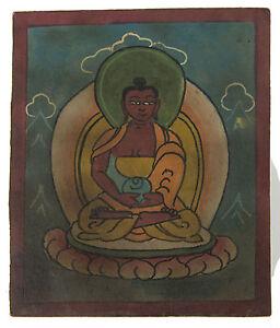 Tsakli -buddha -paint Initiatorische Lama Tibetischer Mongolei Tibet- 6220