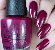 OPI Alice ~WHAT'S THE HATTER WITH YOU?~ Burgundy Purple Nail Polish Lacquer BA3