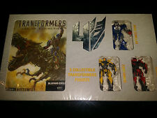 Transformers 4: Age of Extinction Blu-Ray Blufans Tripack Steelbook GIFT Set New