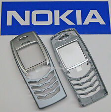 Original Nokia 6100 A-Cover Gehäuse Oberschale Fascia Front Housing Light Blue