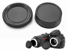 KIT BODY CAMERA COVER CAP REAR LENS COMPATIBILE X NIKON D5000 D3X D90 D70 D80 D3