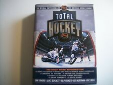 TOTAL HOCKEY--OFFICIAL ENCYCLOPEDIA OF THE NATIONAL HOCKEY LEAGUE-BOOK