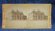 Washington D.C. View of Corcoran Art Gallery  J.F. Jarvis Stereoview