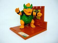"""SUPER MARIO BROS BOWSER Vintage Nintendo 4"""" Trophy Figure 1988"""