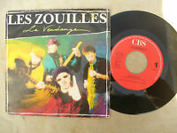 LES ZOUILLES LA VENDANGE / MICRO cbs 655142 7 Issue Netherlands .....45 rpm