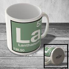 MUG_ELEM_082 (57) Lanthanum - La - Science Mug