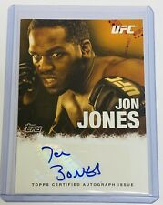 2010 TOPPS UFC - MMA / LIGHT HEAVYWEIGHT CHAMPION- AUTO - JON JONES