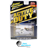 White Lightning 1999 Ford F-450 California Highway Patrol Tow Truck CHASE !