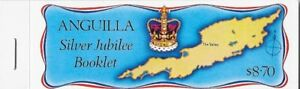 Anguilla 1977 Silver Jubilee Complete Booklet (4 panes), Sc #274b - pw67