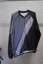 FOX Long Sleeve Cycling Jersey MTB Mountain Grey/Black Mens XL Used
