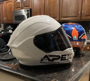 Bell Race Star Flex Helmet Medium M Like Shoei Agv Arai