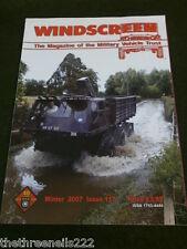 MILITARY VEHICLE TRUST - WINDSCREEN #117 - WINTER 2007 - PANSER FLAK 88