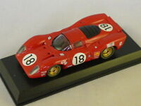 MODEL BEST -  FERRARI 312 P LE MANS 1969 N°18 - 1/43