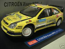 CITROËN XSARA WRC 2007 GALLI RALLYE SUEDE 1/18 SUN STAR voiture miniature Rally