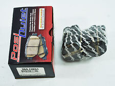 PQ SEMI-METALLIC REAR PAIR BRAKE PADS 06-2011 CHEVROLET CORVETTE Z06 GRAND SPORT