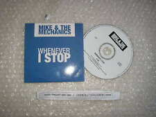 CD POP Mike and the Mechanics-whenever I stop (1) canzone PROMO VIRGIN Genesis