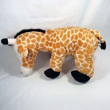 Beautiful Rare Black Mane Giraffe Big 16� Silky Soft Plush Stuffed Exc & Clean